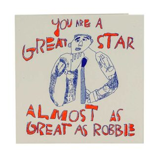 Robbie Williams Card