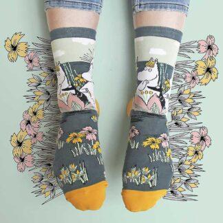 Moomin Socks Lotus